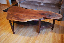 Walnut Accent Table | Wood Master Supply, Twin Cities, Minnesota